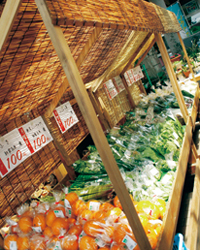 富士ミルクランド 農産品直売所